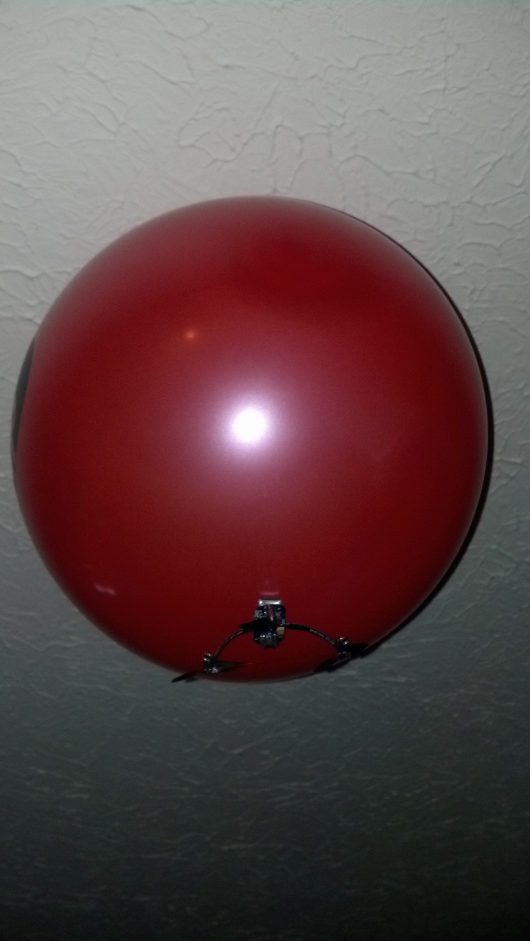 As you can see, a bit too much helium