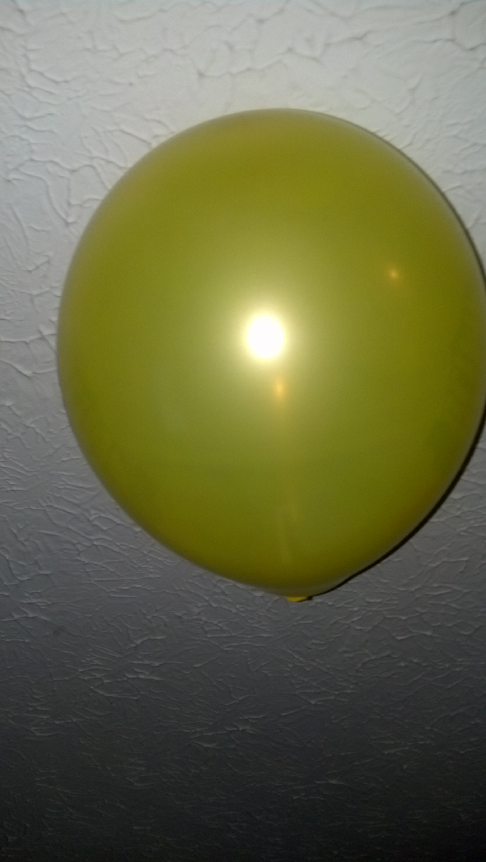 Not Shown: The 6 other balloons floating on the ceiling along with this one.