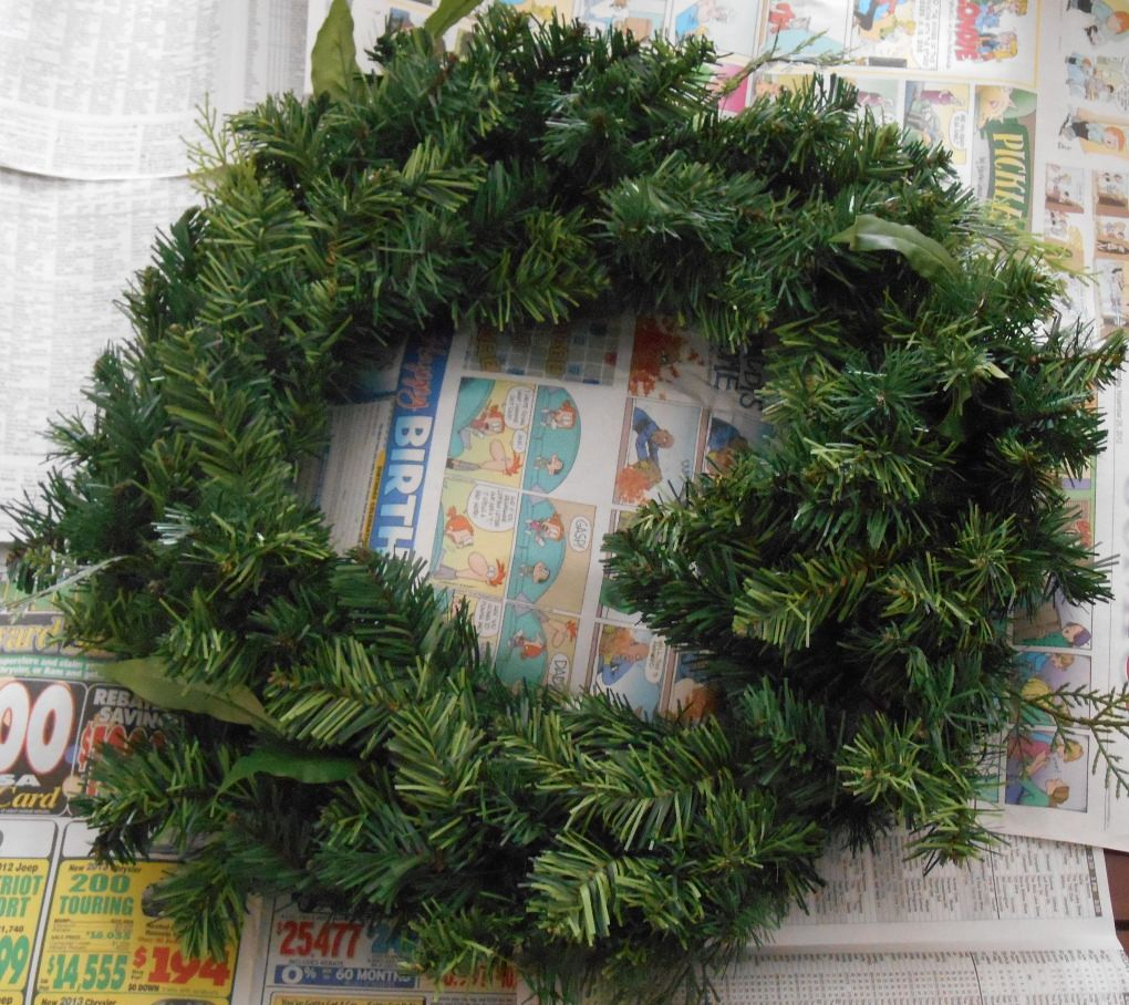 bare wreath