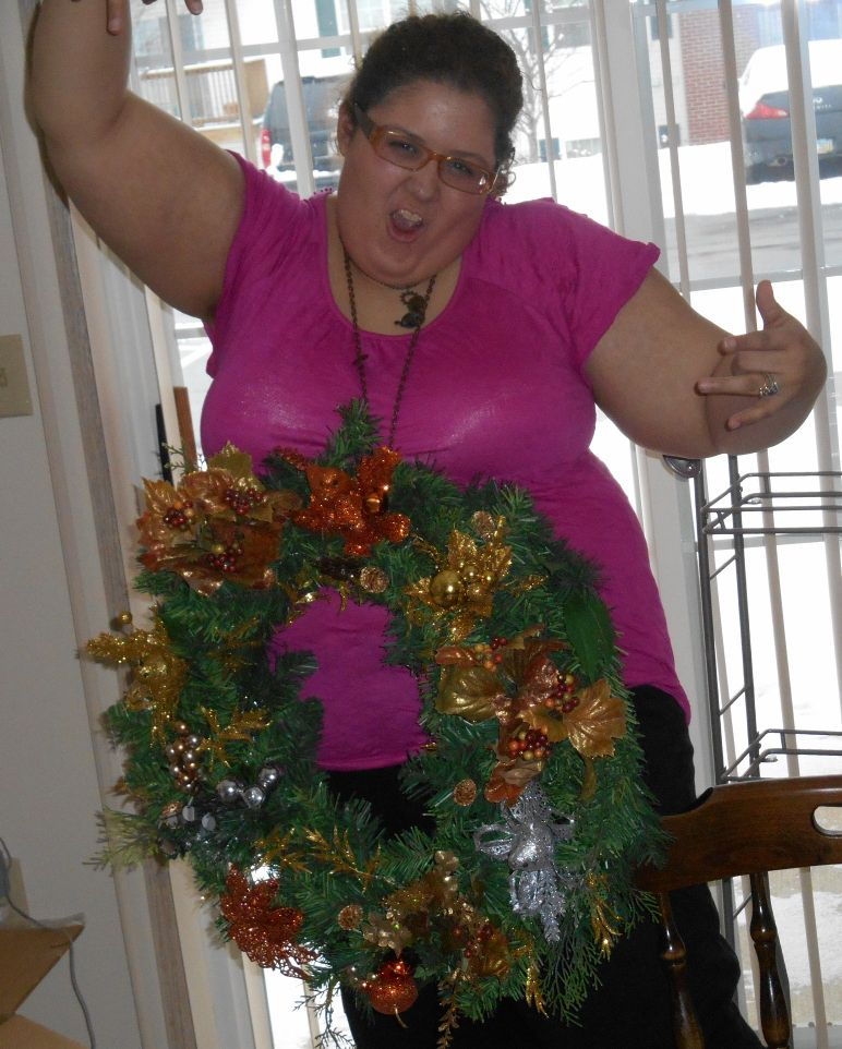 bling the wreath