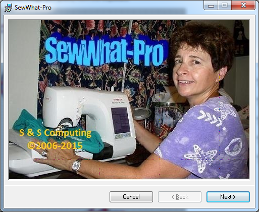 sew what installer